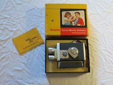 Vintage KODAK BROWNIE TURRET 8mm MOVIE CAMERA with 3 LENSES Original Box - USED