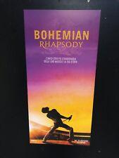 Bohemian Rhapsody (2018) Queen Locandina cm 33x70 Cinema Prima Edizione ITA