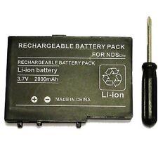 Batterie pour Nintendo DS lite - USG-003 - 2000 mah + tournevis adapté - BULK