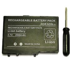 Battery for Nintendo DS lite - USG-003 - 2000 mah + screwdriver adapted - BULK