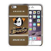 Anaheim Ducks Logo Iphone 5s SE 6s 7 8 X XS Max XR 11 Pro Plus Case Cover 05
