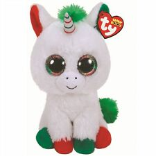 Ty Beanie Babies 36425 Boos Candy Cane the Christmas Unicorn Boo Buddy