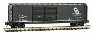 Z Scale Micro-trains Chesapeake & Ohio 50' Box Car Double Door RD#27899 IC032