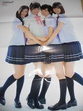 AKB48  Mayu Watanabe & Nogisaka46 POSTER JAPAN LIMITED!