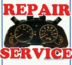 INSTRUMENT CLUSTER REPAIR SERVICE, FITS 2004 TO 2007 INFINITI G35, G35X
