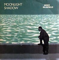 "Mike Oldfield 7"" Moonlight Shadow - Label vert - France (VG+/VG+)"
