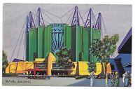 1933 Chicago World's Fair PC Travel Building ...