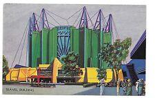 1933 Chicago World's Fair Pc Travel Building .