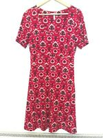 Pepperberry Dress, Red/Teal/Black, 12 Curvy / Really Curvy