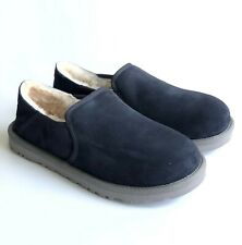 UGG Australia KENTON Navy Suede Slippers Men's Size 10