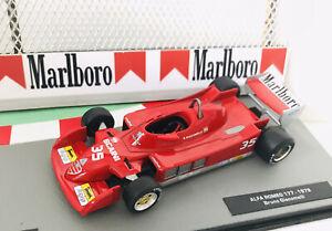 F1 Car Collection Full MARLBORO Agip Alfa Romeo 177 B.Giacomelli 🇮🇹1977 Superb