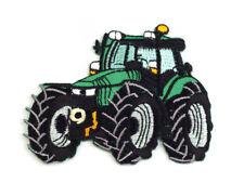 Applikation Traktor Aufnäher Aufbügler Baufahrzeug