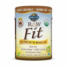 - Garden of Life Raw Fit Protein Powder Chocolate 450 Gr 1 LB