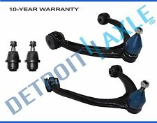 Pair New Upper Steel Control Arms + Lower Ball Joints for Aluminum Control Arms