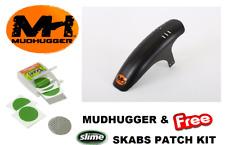 MUDHUGGER Mudguard  Front Shorty Mountain Bike 26 27.5 29 & Slime Skab Patch Kit