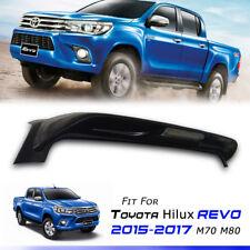 Rear Gloss Black Spoiler With Break Light Toyota Hilux Revo M70 M80 15 16 17