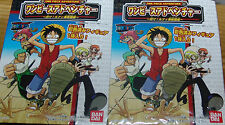 NEW Bandai One Piece Adventure Complete 6 Piece UFO Set USA SELLER FREE SHIPPING