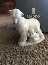 "Lladro polar bears ""Arctic Family"" W Box # 6745"