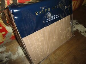 RALPH LAUREN BECKETT HABERDASHERY PINSTRIPE KING/KING/CALIFORNIA KING DUVET
