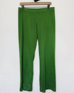 Patagonia Performance Baselayer Capilene Women's Green Pants Size Medium