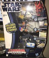 Star Wars Collectible Titanium Series Die Cast Set Anakin Skywalker