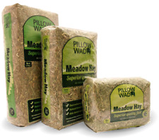More details for pillow wad mini/maxi meadow hay - full of vitamins for small animals