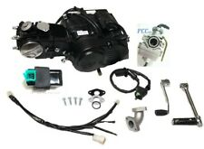 110CC SEMI AUTO ENGINE MOTOR 4 UP KICK START CARBURETOR PIT DIRT BIKE M EN14-SET