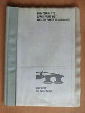 RICAMBIO elenco Claas Kreisel a flagelli Unifarm cm 186 186c parts list a partire dal 69101001