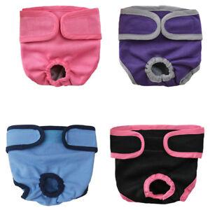 4pc Pet Parents Premium Washable Dog Diapers  Doggie Diapers Female Male Dog