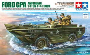 Tamiya 35336 1/35 Military Model Kit Ford GPA Seep Amphibian 1/4 Ton 4x4 Truck
