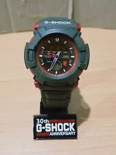 Vintage G-Shock AW510ET Collaboration Street Punk Army Green-Red Japan Limited