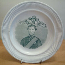 Rare 1863 Married Prince of Wales Plate - later King Edward VII Queen Alexandra