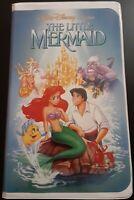 Disney The Little Mermaid - VHS, 1989, RARE BANNED Adult Black Diamond Edition