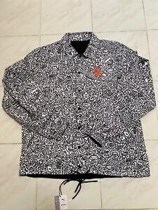 PUMA X & MR DOODLE Collab Reversible Streetstyle Jacket Mens L White