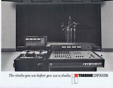 ORIGINAL Vintage 1973 Tascam Corp Mixing Console Recorder Catalog