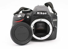Nikon D D3200 24.2MP Digital SLR Camera - Black (Body Only) - Shutter Count : 10