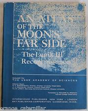 Atlas Moon's Far Side Lunik III Reconnaissance USSR Map Photo Russia Lunar Space