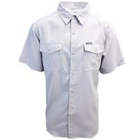 Columbia Men's Grey Utilizer II Solid Short Sleeve Shirt (Retail $60.00)