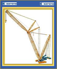 1/50 SARENS Conrad Terex cc3800 Superlift Crawler Crane SALE $$$$
