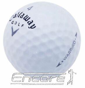 20 Callaway Warbird Golf Balls Grey Tick Golf Balls PEARL / A Grade.