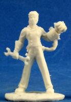 1 x DR DARIUS HELLSTROMME - BONES REAPER figurine miniature jdr rpg d&d mechanic