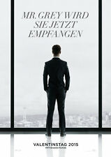 FIFTY SHADES OF GREY - Orig.Kino-Plakat A1 - Teasermotiv - Johnson, Dornan