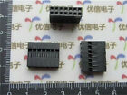 DZ55 100Pcs 2x7p Dupont Jumper Wire Cable Housing Pin Connector 2.54mm Pitch ✿