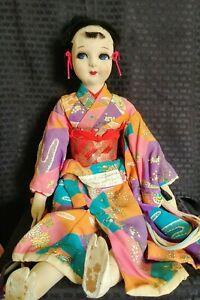 Vintage Doll From Czechoslovakia
