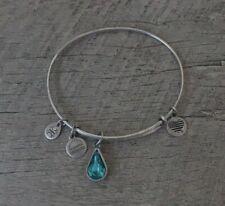 Alex and Ani december birthstone bracelet