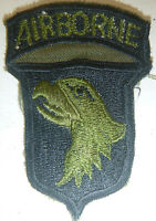 Subdued Para PATCH - US 101st AIRBORNE - SCREAMING EAGLES - Vietnam War - 1112