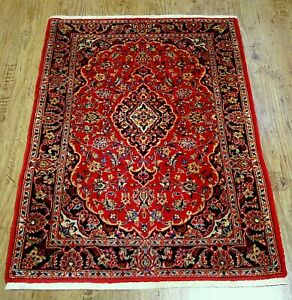 Wunderschöner Echter Perser Teppich *Keshan* Kork Rug Tapis Tappeto 120x82