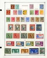 Bahamas Popular 1800s to 1979 Clean Mint & Used Stamp Collection