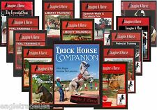 Trick Training Horses - Complete Set by Imagine A Horse - 16 DVDs & Book