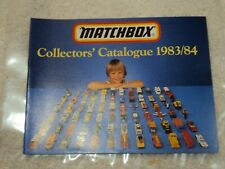 Vintage Matchbox Collectors' Catalogue 1983/84 Free Shipping